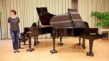 KAWAI Flügel an Musikschule Purkersdorf